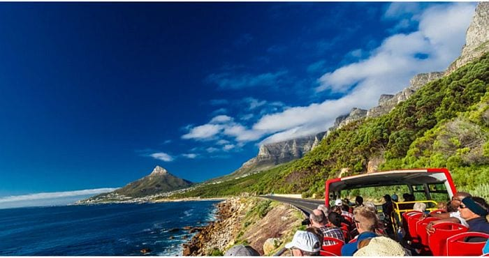 Things to do with Kids in Cape Town - Red City sightseeing bus