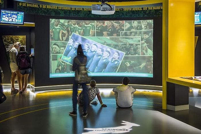Things to do with kids in Cape Town - SA Rugby Experience museum