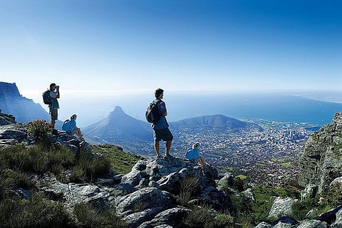 Walking tours in South Africa - Table Mountain