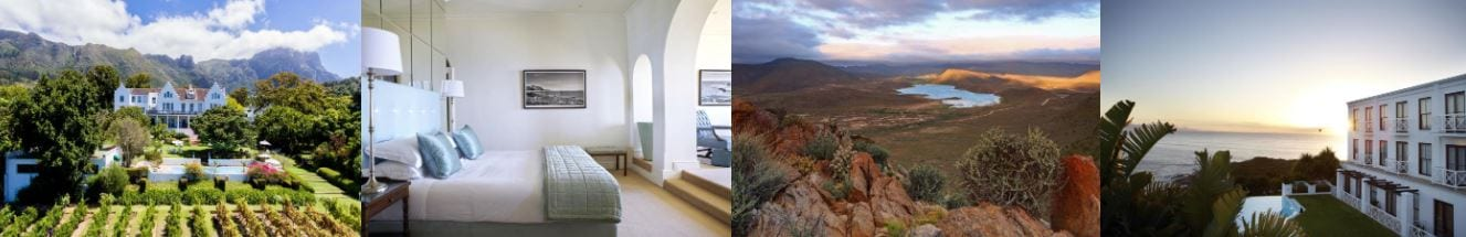 south africa in spring offer - accommodation collage
