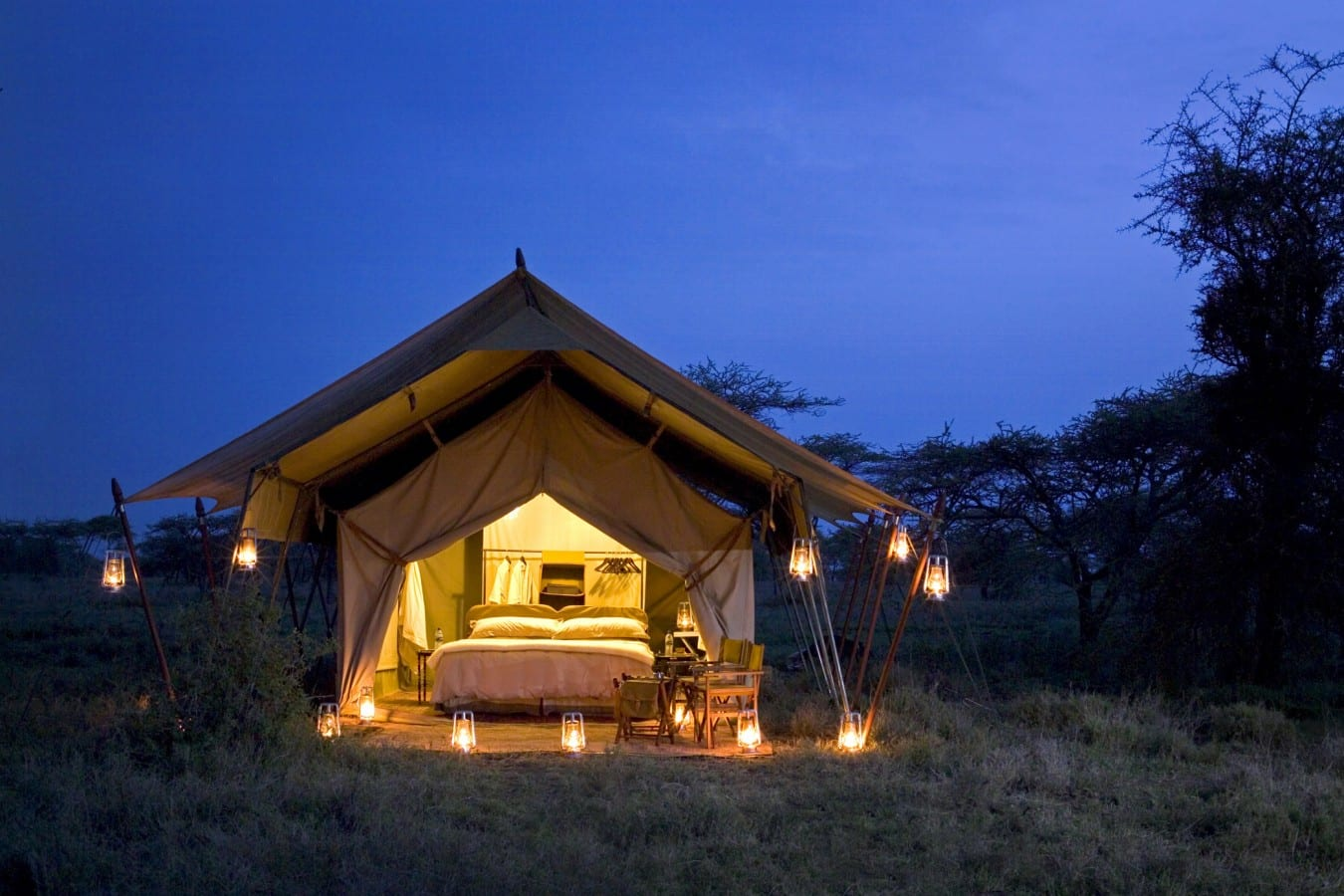 Serengeti-Under-Canvas-Tent-view low, romantic east africa lodges