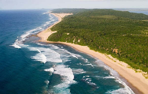 Thonga Beach Lodge-Aerial - Community Tourism