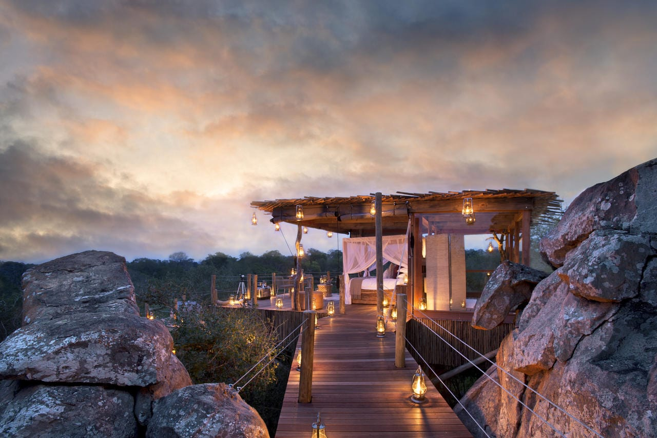 Lion Sands Kingstone Treehouse - Best Sleep-Outs in Africa